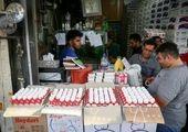 افزایش قیمت تخم مرغ در بازار/فیلم