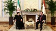 روسای جمهور ایران و تاجیکستان باهم دیدار کردند