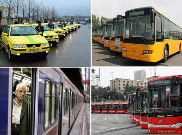 افزایش قیمت کرایه های حمل و نقل عمومی از امروز + جزییات