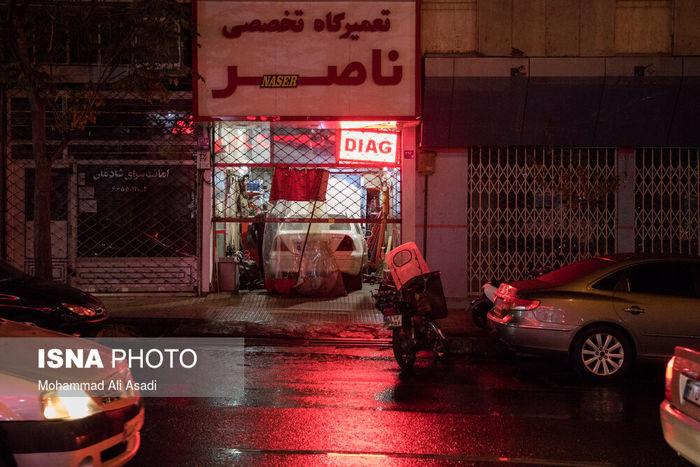 تصاویر/ تهران، کرونا و ساعت ۱۸