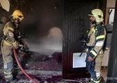 مرگ ۶ نفر در پردیس به علت آتش سوزی + فیلم
