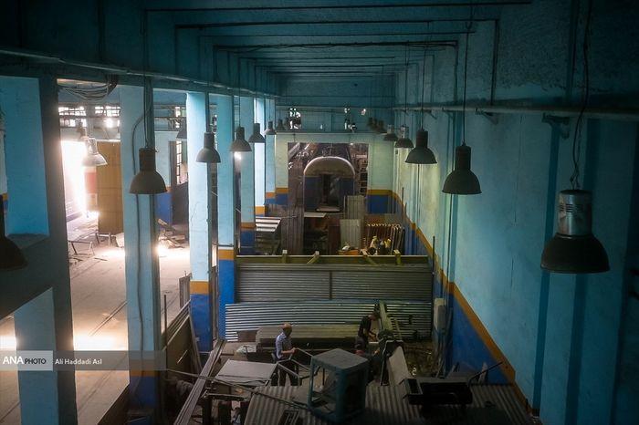 تصاویر / تعمیر واگنهای قطار در دانشگاه