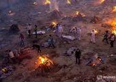 جنازه هندی از ترس سوزانده شدن زنده شد!