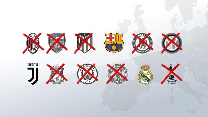 بارسلونا، رئالمادرید و یوونتوس در آستانه اشد مجازات