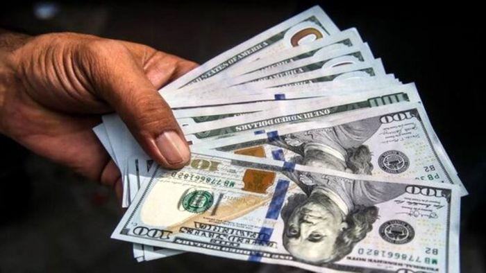 ادامه ریزش دلار در بازار