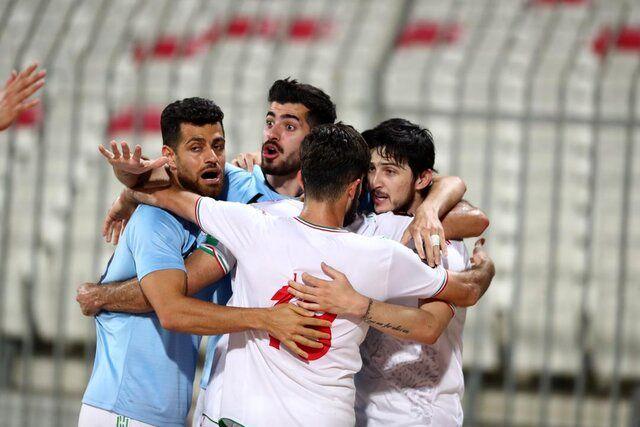 ثبت پنجمین پیروزی پرگل تاریخ تیم ملی