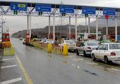 حریق در تونل آزادراه تهران پردیس