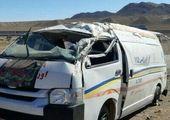 راننده اپتیما به امدادگران اورژانس هم رحم نکرد! + فیلم