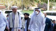 نحوه دیدار رسمی مقامات ارشد طالبان از مسئولان قطر + عکس