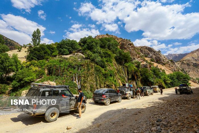 تصاویر/ لذت سفر با آفرود!