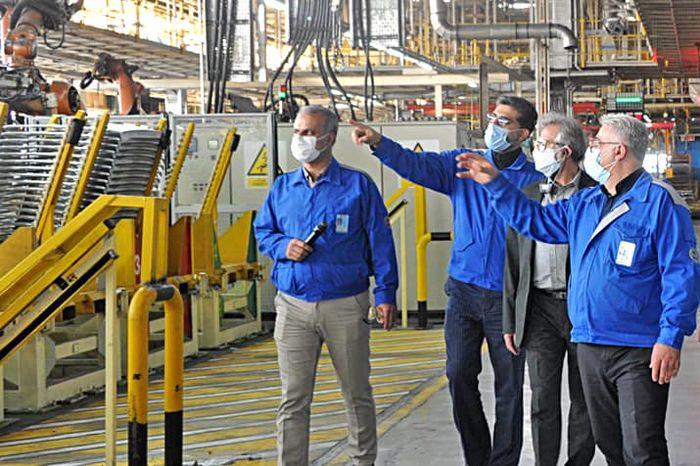 اقدامات فناورانه ایران خودرو انگیزهای برای حمایت از تولید ملی است