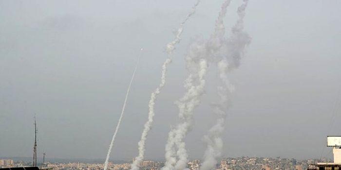 حمله موشکی به پایگاه هوایی اسرائیل در صحرای نقب