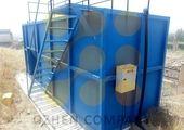بهره برداری از دو مخزن ذخیره آب در شهر ساوه