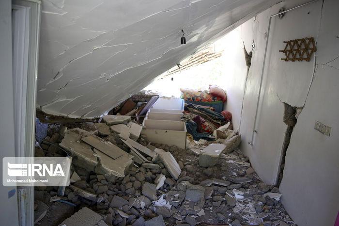 تصاویر/ خسارت زلزله امروز صبح در گلستان