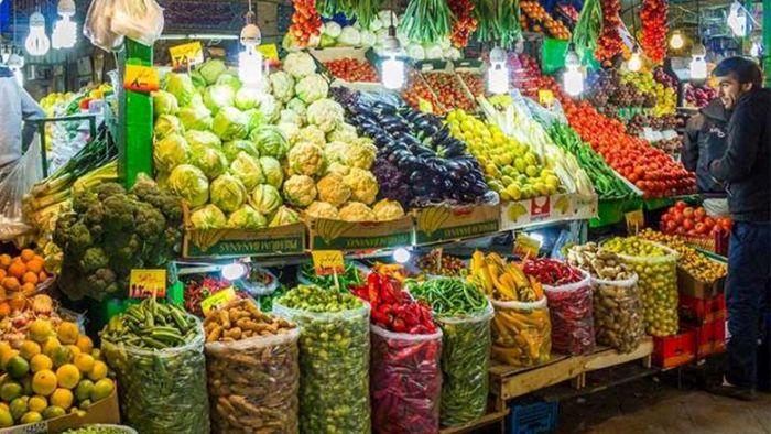 قیمت میوه و تره بار در بازار امروز (۹۹/۱۲/۲۳) + جدول