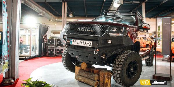 استقبال آفرودبازان از نمایشگاه تهران/ قیمت این خودروها در نمایشگاه