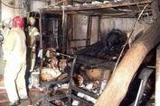 آتشسوزی هولناک در خیابان ولیعصر