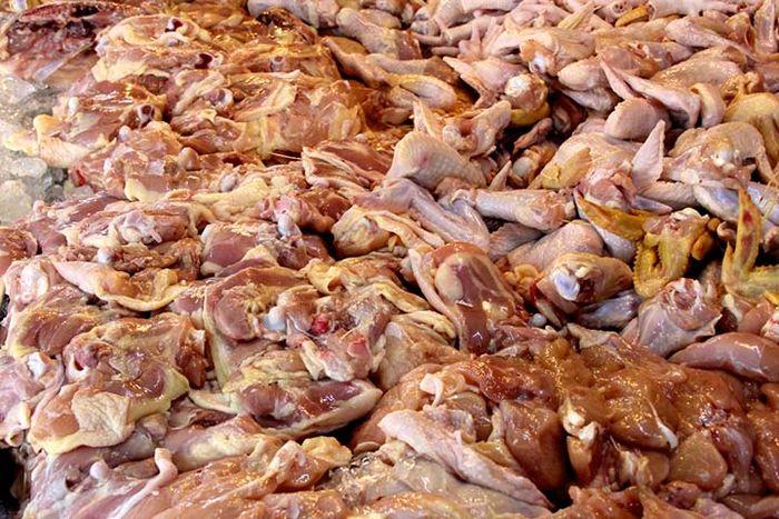 اسکلتخوری مردم در تهران! / فروش اسکلت مرغ، گاو و گوسفند