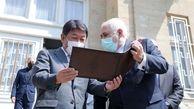 توییت ظریف درباره دیدار با وزیر خارجه ژاپن