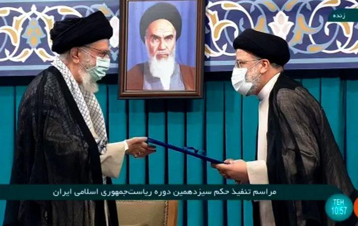 حکم ریاست جمهوری رئیسی تنفیذ شد+تصویر