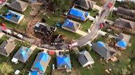 سقوط هواپیمای نیروی دریایی آمریکا در منطقه مسکونی