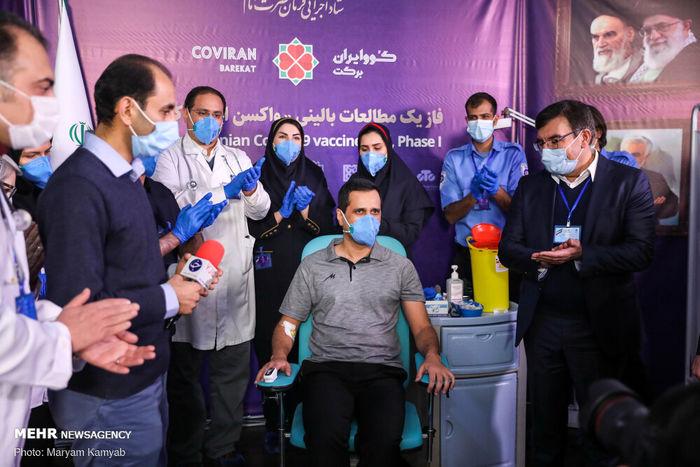تصاویر/ نخستین تست واکسن ایرانی کرونا