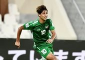 فوری/ ستاره عراق به بازی با ایران میرسد