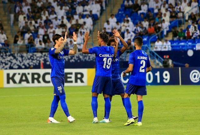 الهلال در آستانه حذف از لیگ قهرمانان آسیا
