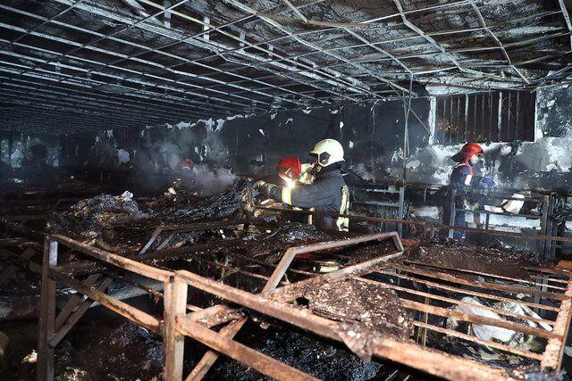 آتش در مرکز ترک اعتیاد چندین قربانی گرفت