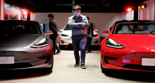 جنجال رسانه ای در نمایشگاه خودرو شانگهای