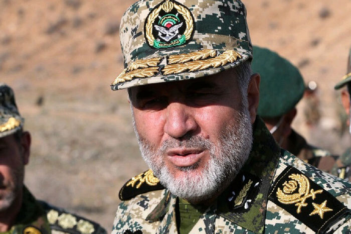 سرتیپ حیدری: ایران نسبت به تغییرات مرزهای رسمی حساس است