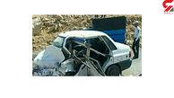 برخورد مرگبار دو خودرو فاجعه آفرید!
