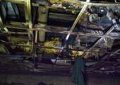 آتش گرفتن یک نیسان در اتوبان قم- تهران + فیلم