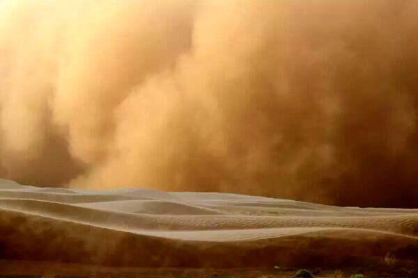 طوفان شدید شن در عربستان و قطر