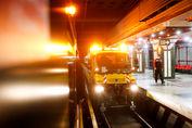 تصاویر/ ظرفیتسنجی متروی پایتخت در شرایط امدادی