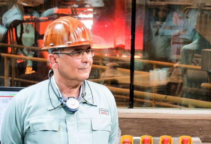 پیام تبریک مدیرعامل فولاد هرمزگان درپی یک رکوردشکنی جدید