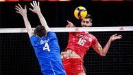 ایران در ست دوم بازی را به تساوی کشاند