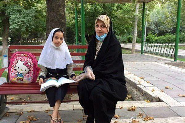 برگزاری کلاس معلم مهربان در پارک