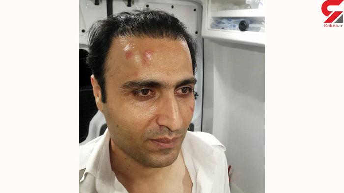 حمله به آمبولانس پس از نجات جان همسایه