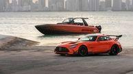 قایق بنز ۱۹ میلیارد تومان ناقابل! + تصاویر